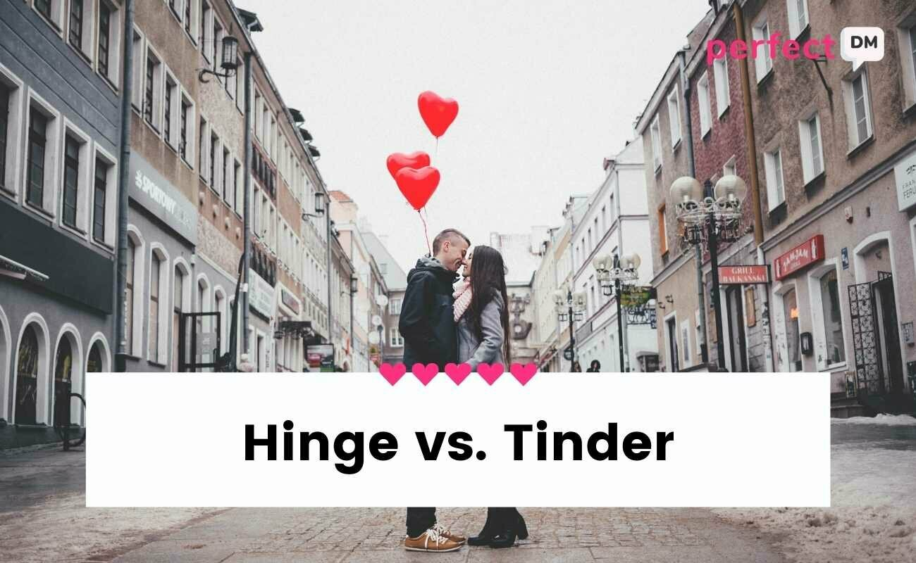 HINGE VS TINDER FEATURED IMAGE